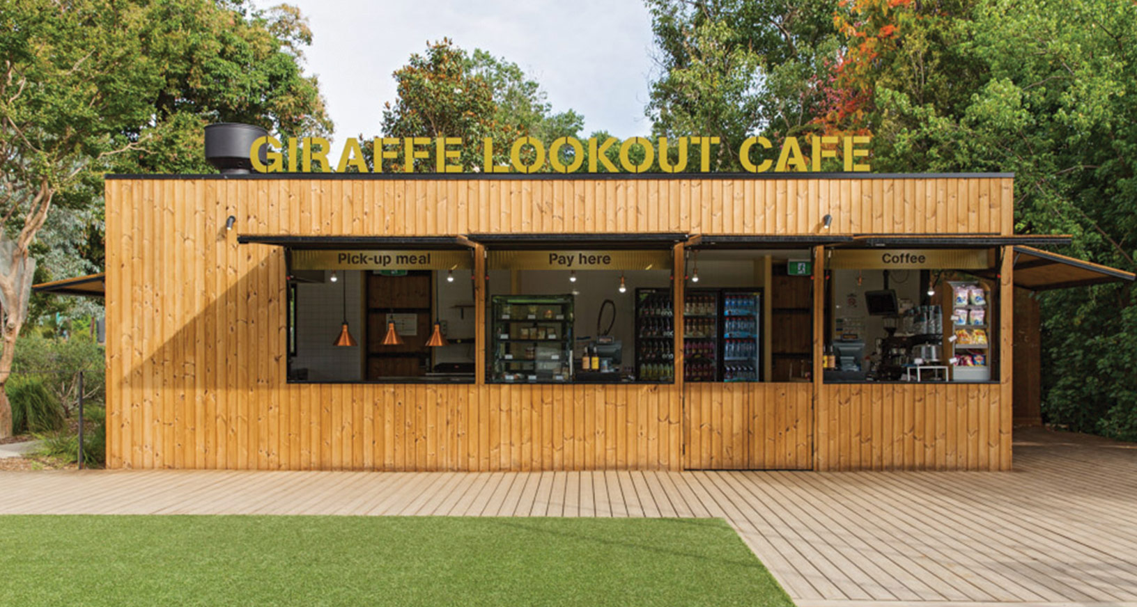 Giraffe Café Lookout
